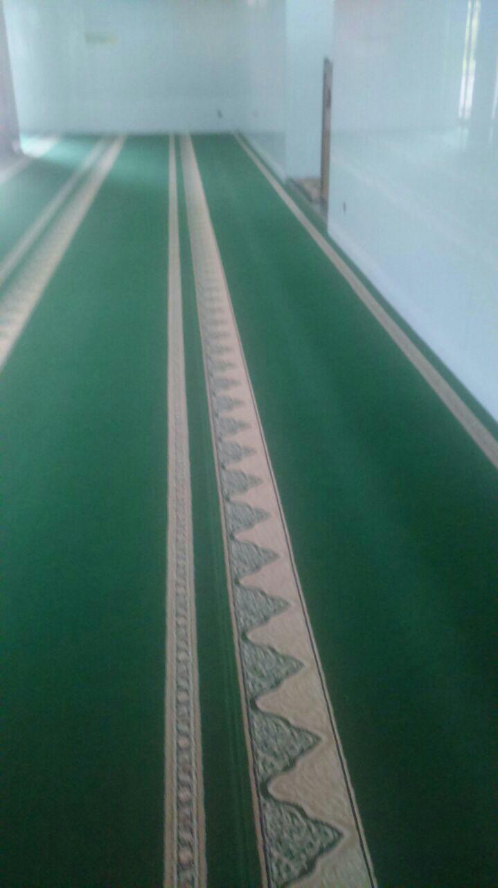 Karpet Masjid Roll Yasmin Hijau